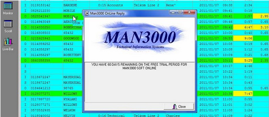 MAN3000 Telephone Management System Free Download