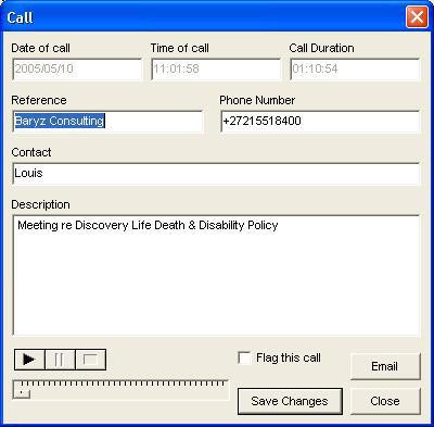 redtin call recorder caller details