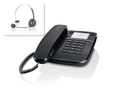 Gigaset DA410 headset phone combo