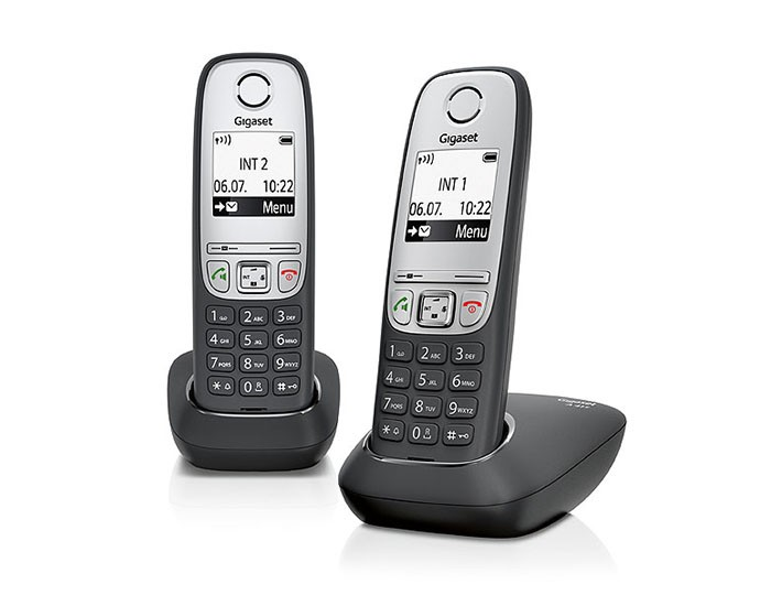 Siemens Gigaset A415 Duo Cordless Phone Set