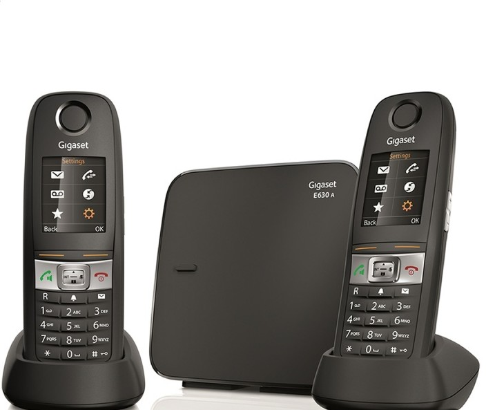 Siemens Gigaset E630a Duo Cordless Phone System