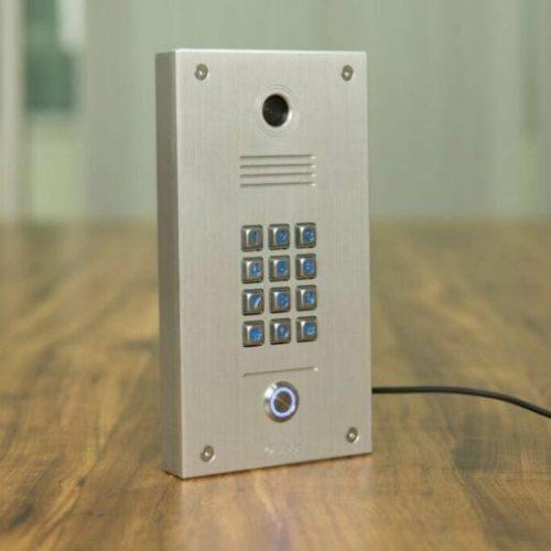 single button ip door phone